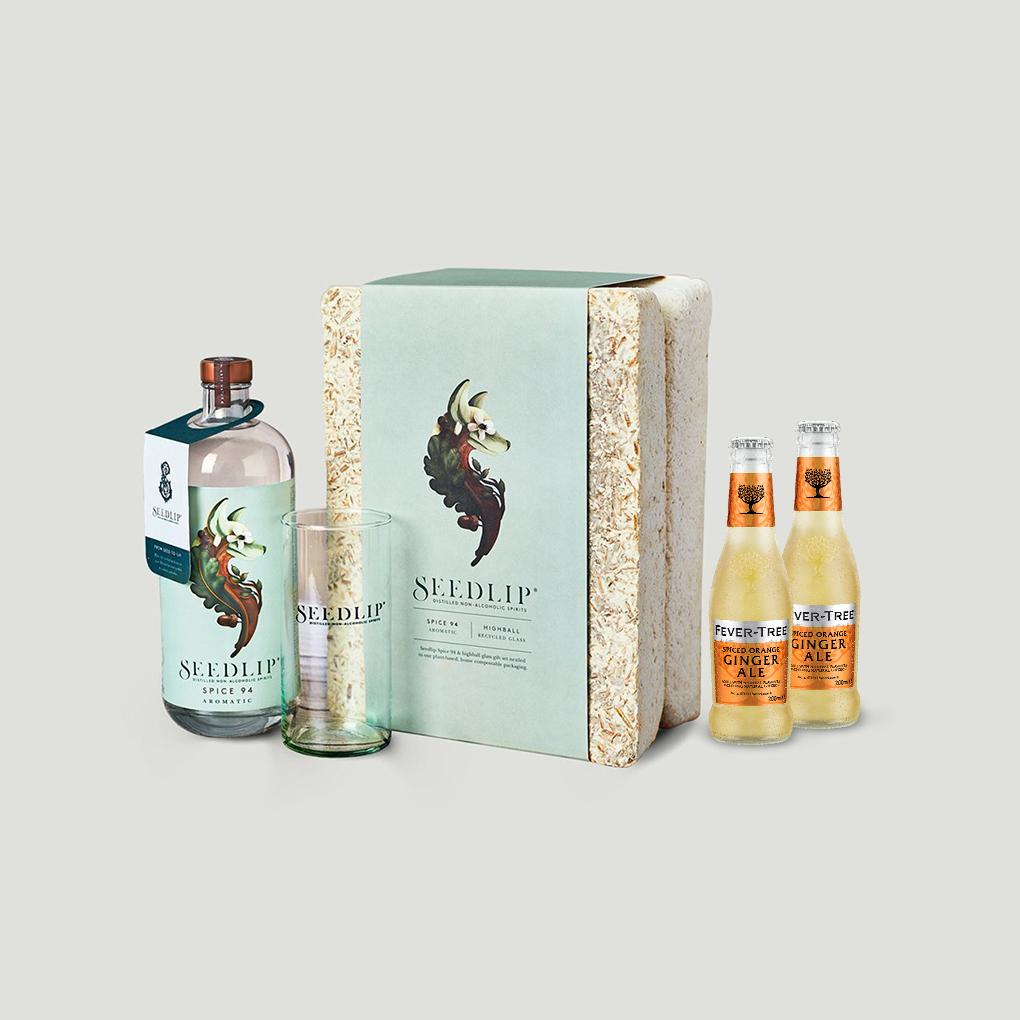 Father's Day Mycellium & Ginger Gift Set -70cl