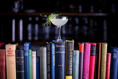 Martini on books.jpg